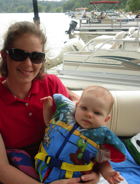 Boating with the oldest