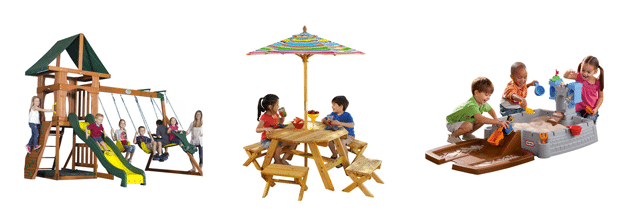 Wayfair outdoor play