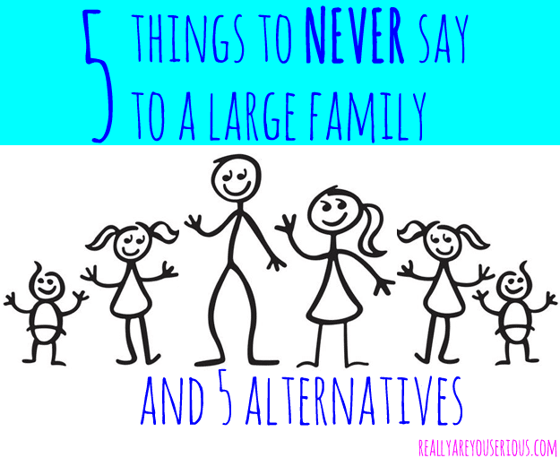 5 things to never say
