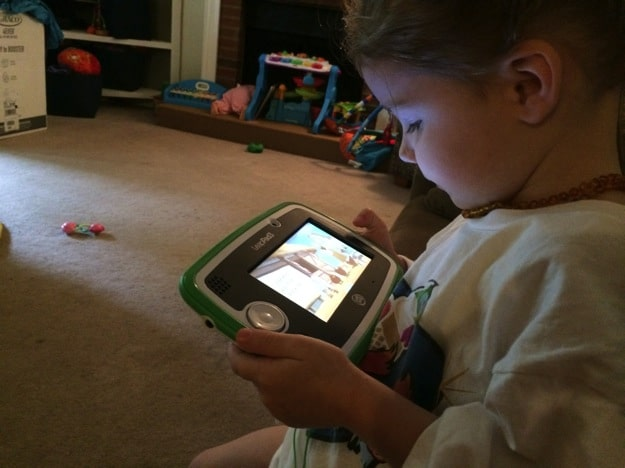 2 year old with #LeapPad3