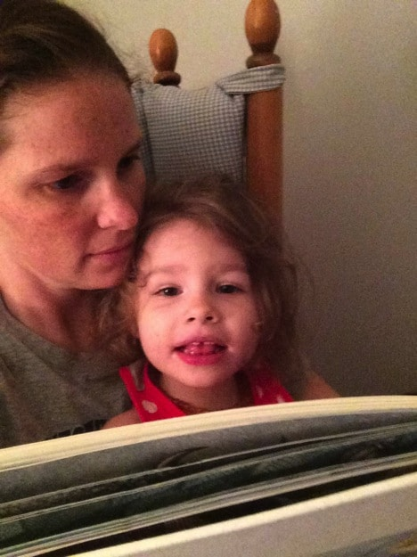 Mommy and e reading