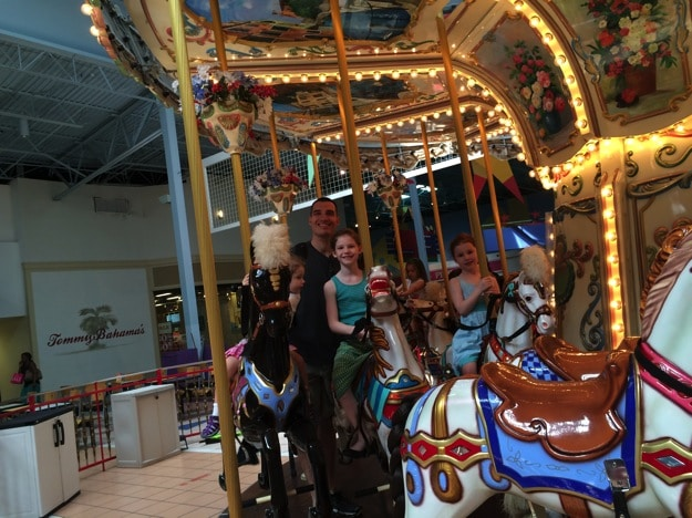 ride the carousel