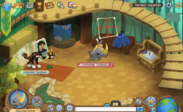 Animal Jam Aquarium