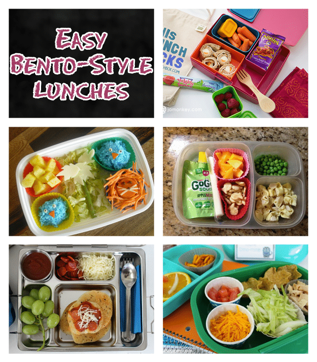 Easy Bento-Style Lunches