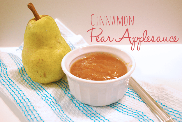 Slow cooker chai-spiced pear sauce: better than apple sauce, and easy ...