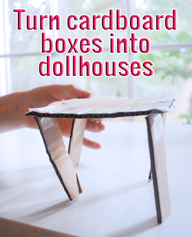 Turn cardboard boxes into doll houses.png
