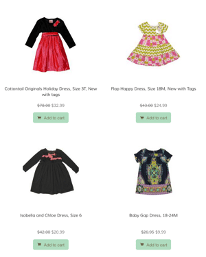 Dessie Kids cute clothes