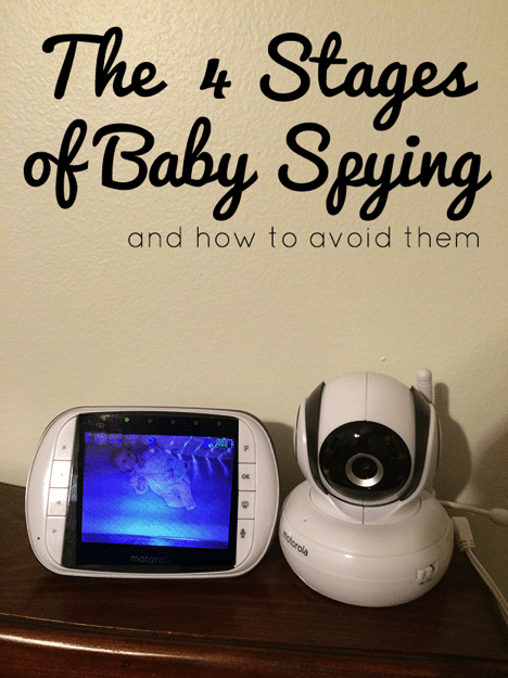 The 4 stages of baby spying and how to avoid them