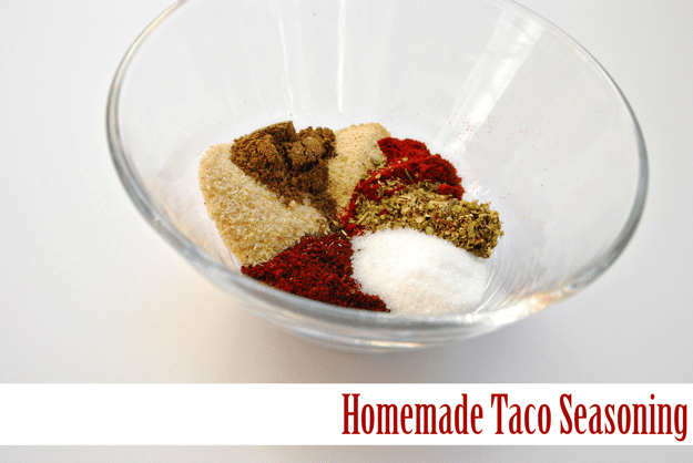 The best Homemade taco seasoning