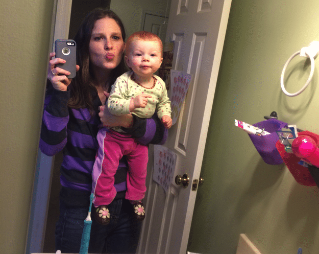 Kissy faces mommy and me monday
