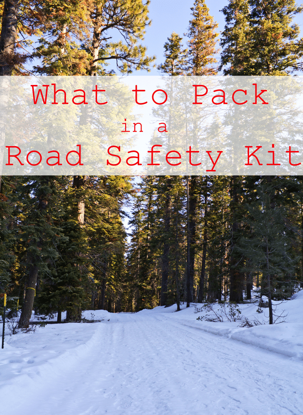 What to pack in a road safety kit