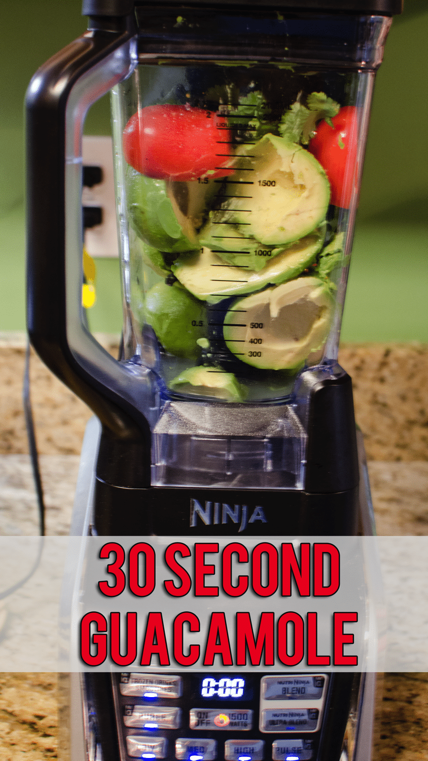 30 second guacamole