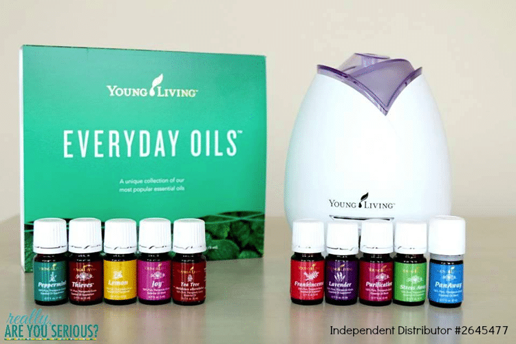 Try Essential Oils