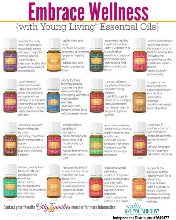 embrace wellness with young living essential oils