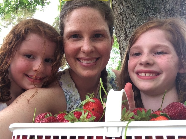 Strawberry picking | Mommy and Me Monday
