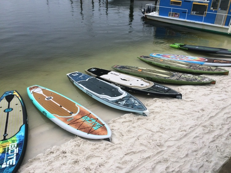 paddle boarding fort walton beach florida emerald coast