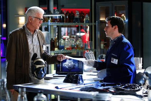 CSI lab scene