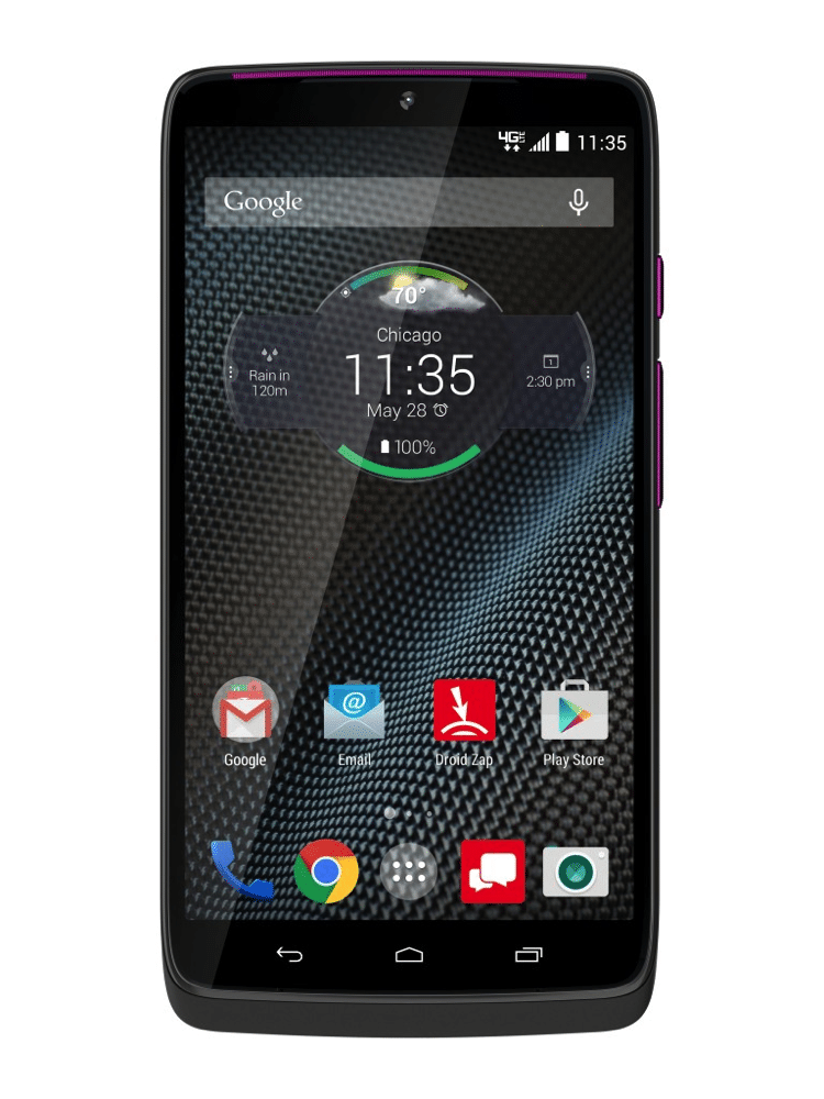 DROID Turbo by Motorola in Gray Ballistic Nylon