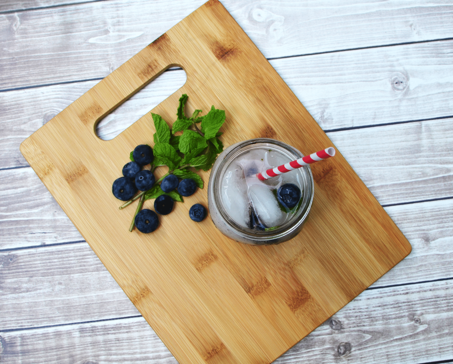 Mock-jito Blueberry Mock Mojito Low calorie