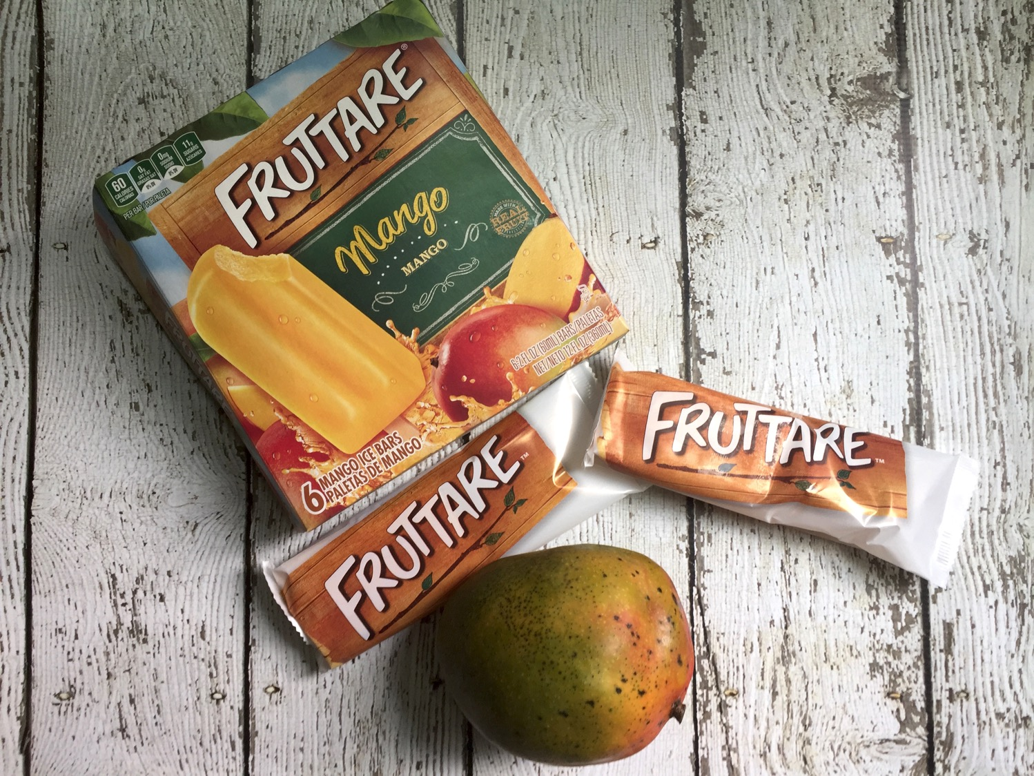 Easy kid-friendly treats | Fruttare® frozen fruit bars