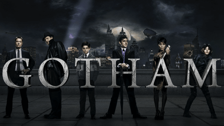 Gotham Season 1 on Netflix