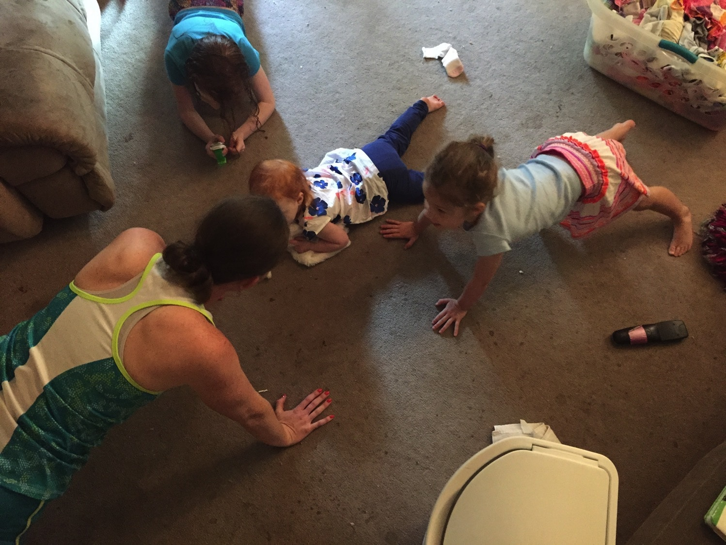 Push-Ups with Mommy | Mommy and Me Monday