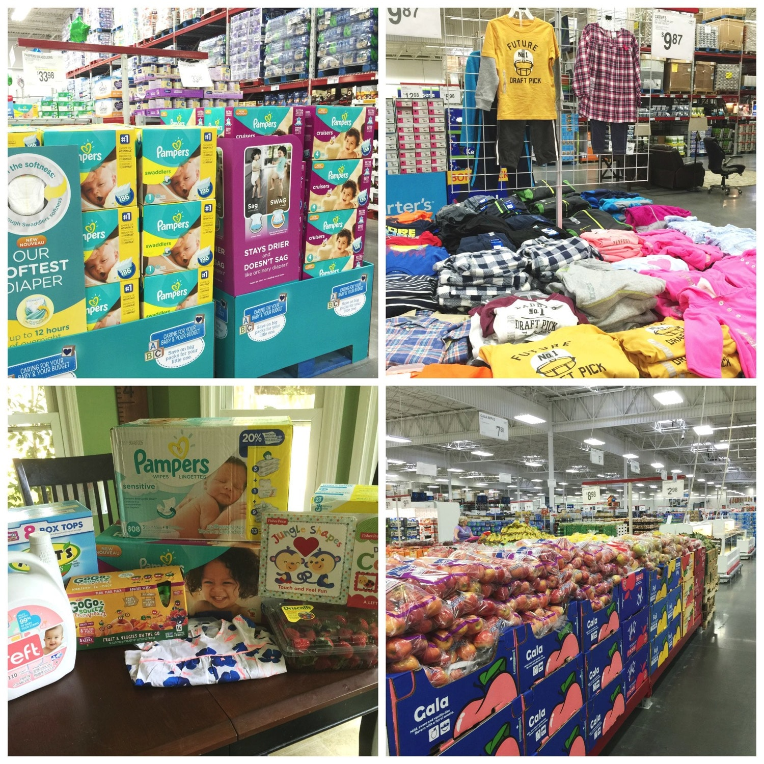 Sam s club in store baby month