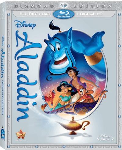 Aladdin on Blu-Ray Diamond Edition Combo Pack