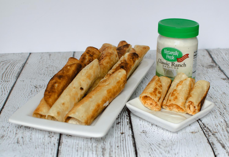 Easy Buffalo Chicken Taquitos | Gluten-Free Dairy-Free