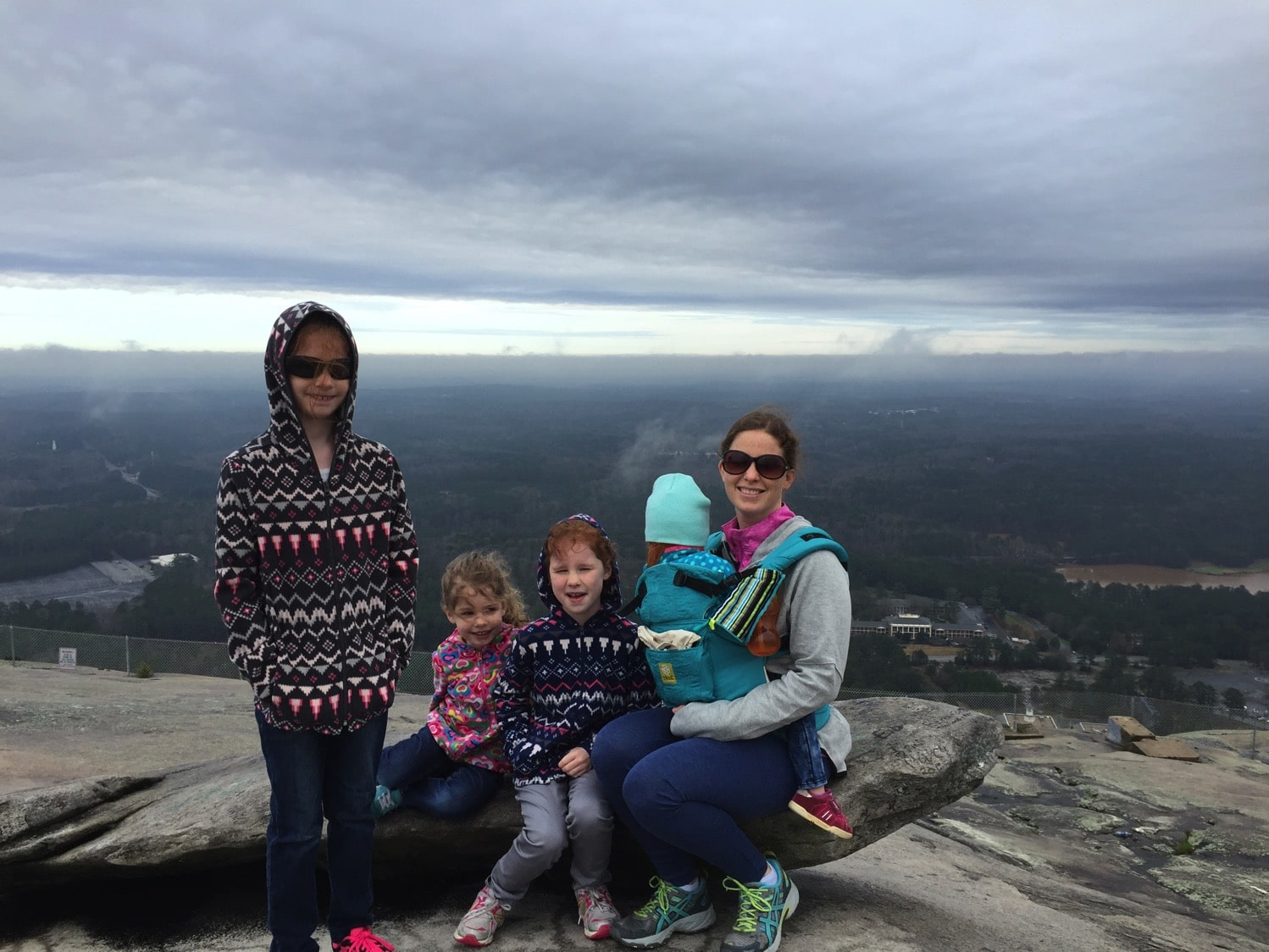 stone mountain in the winter without the snow lillebaby complete embossed