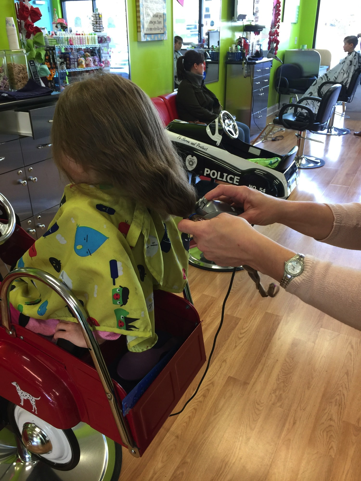 The haircut donation