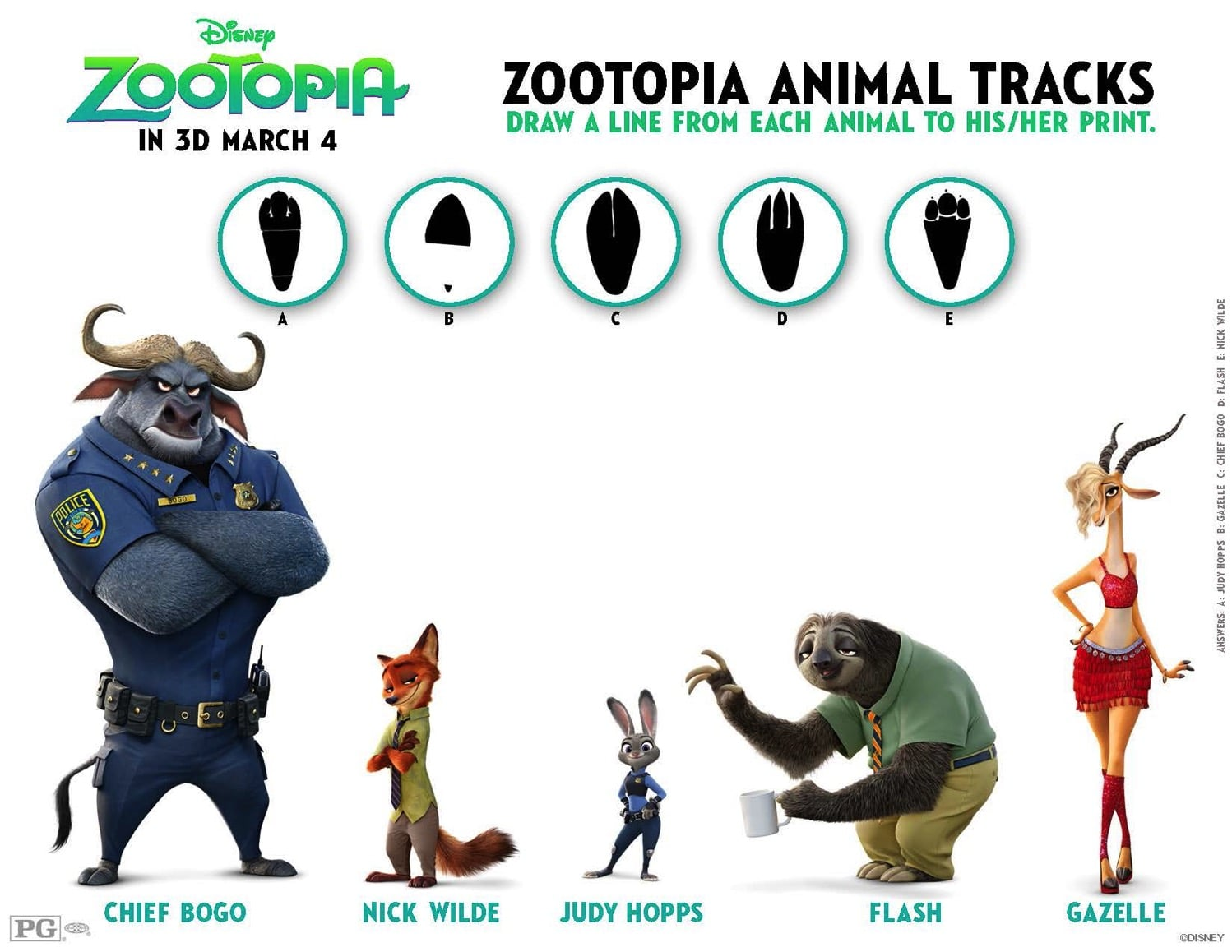 http://www.reallyareyouserious.com/wp-content/uploads/2016/03/Zootopia-tracks-match-up.pdf