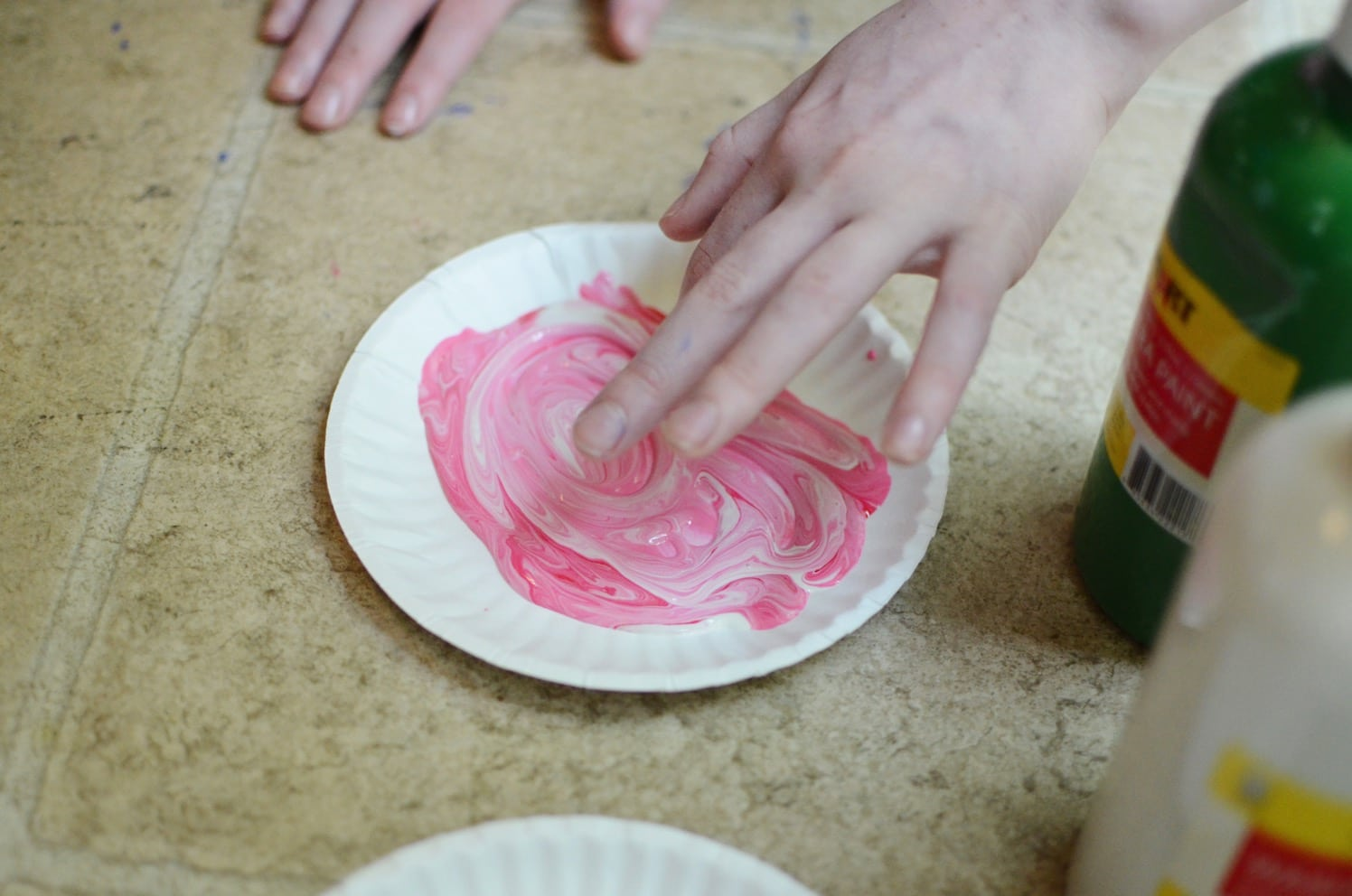 DIY Watermelon Craft for Toddlers - Elementary