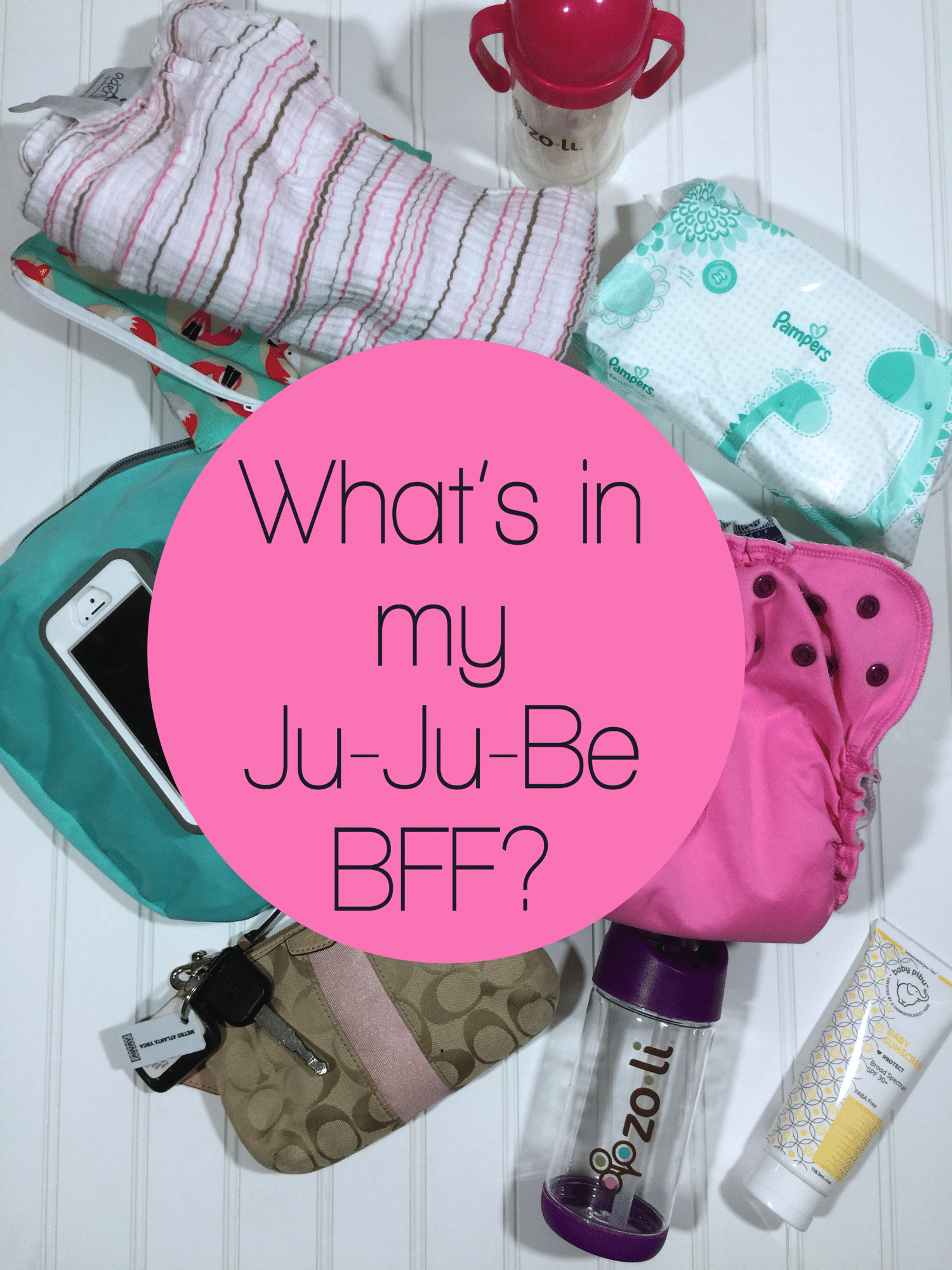 In my bag jujube bff