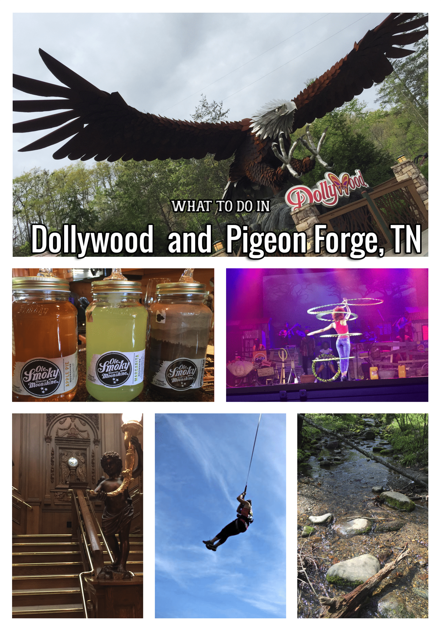 Dollywood and Pigeon Forge TN