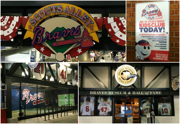 Scout's Alley at Turner Field