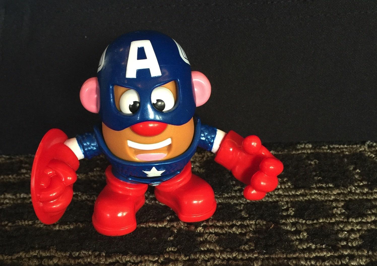 Mr. Potato Head Captian America