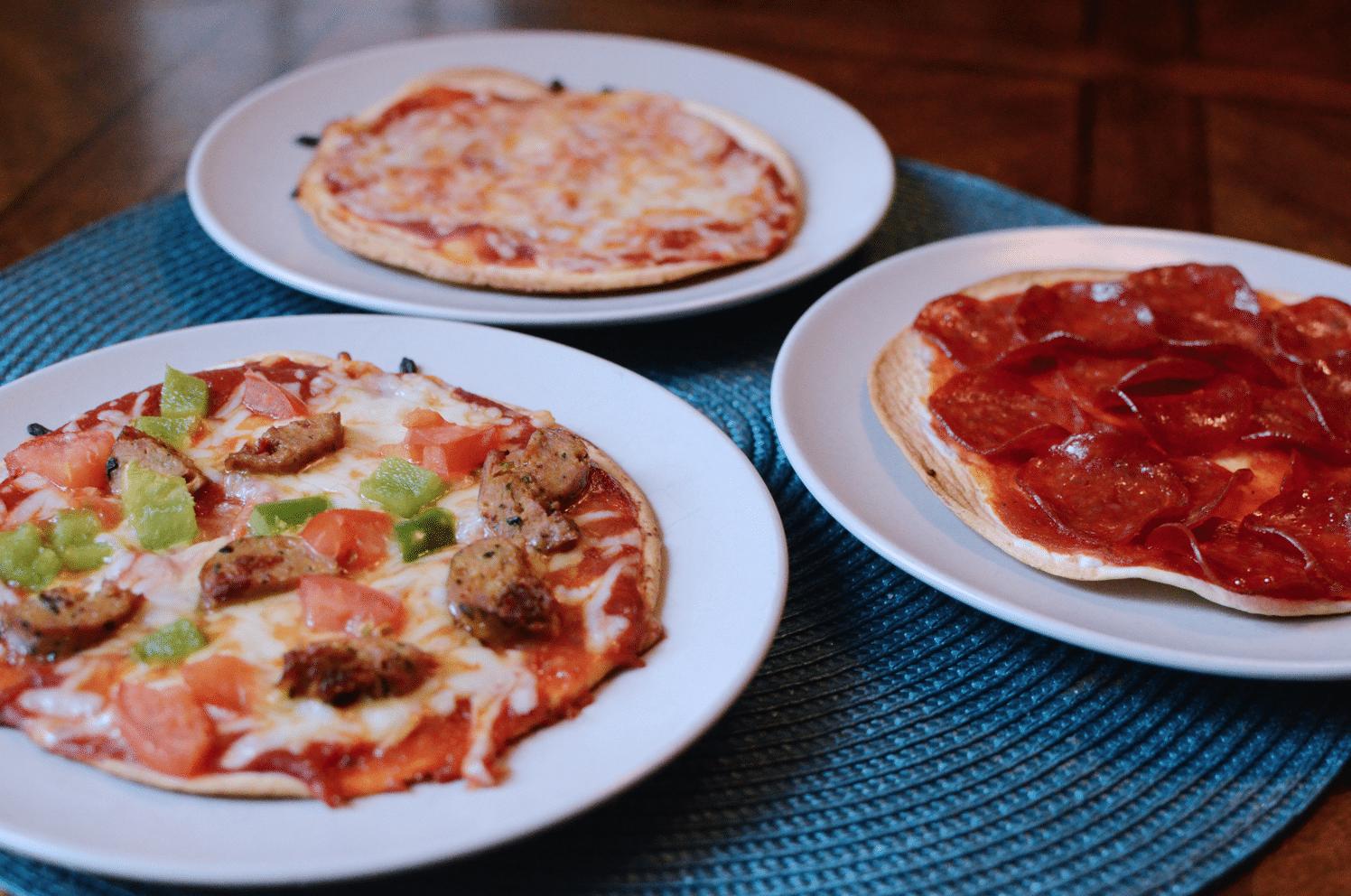 easy diy pizza bar with aldi