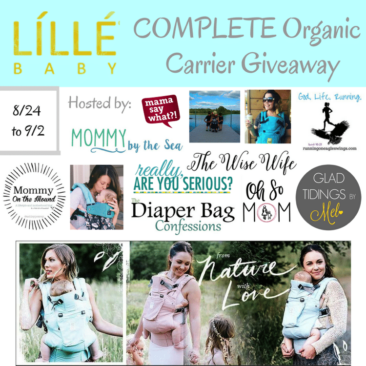 Lillebaby complete organic giveaway