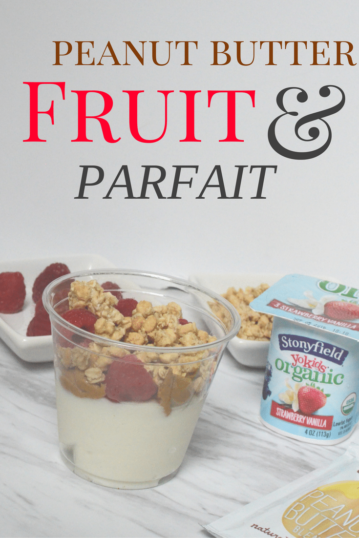 Pb and fruit parfait pin