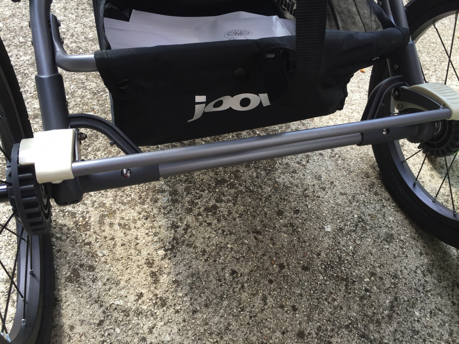 Joovy Zoom 360 ultralight review foot brake