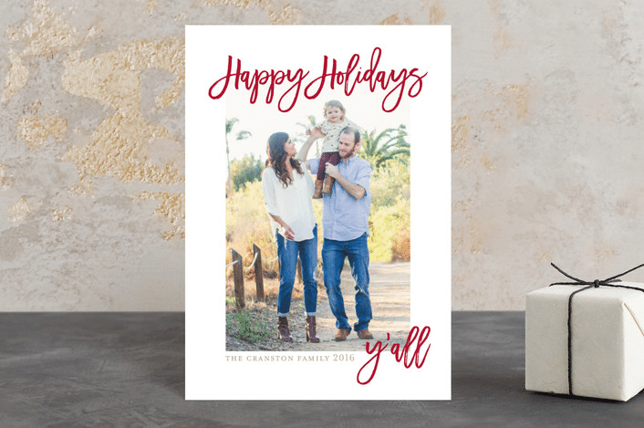 Southern Charm holiday card