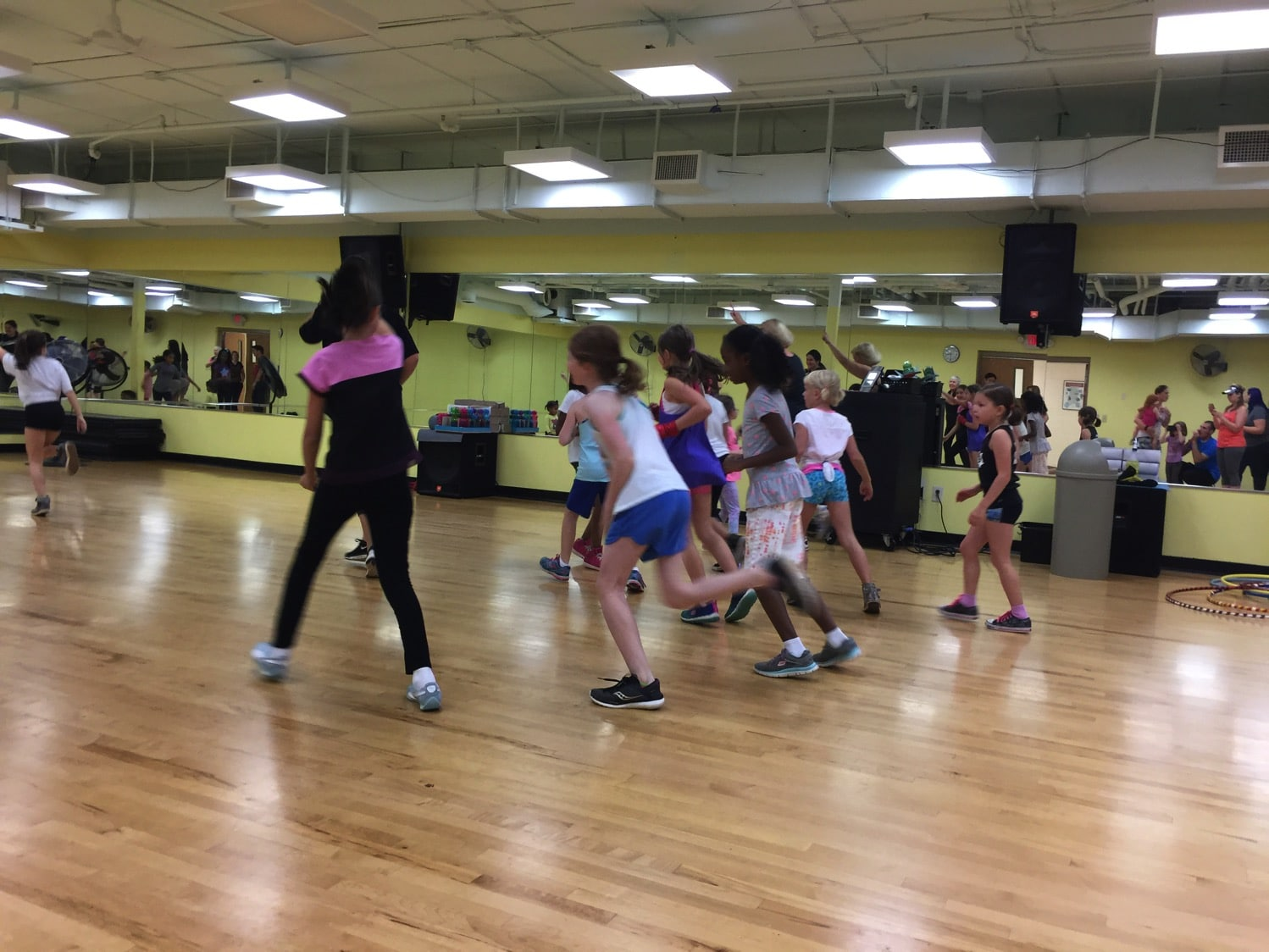 Zumba birthday party
