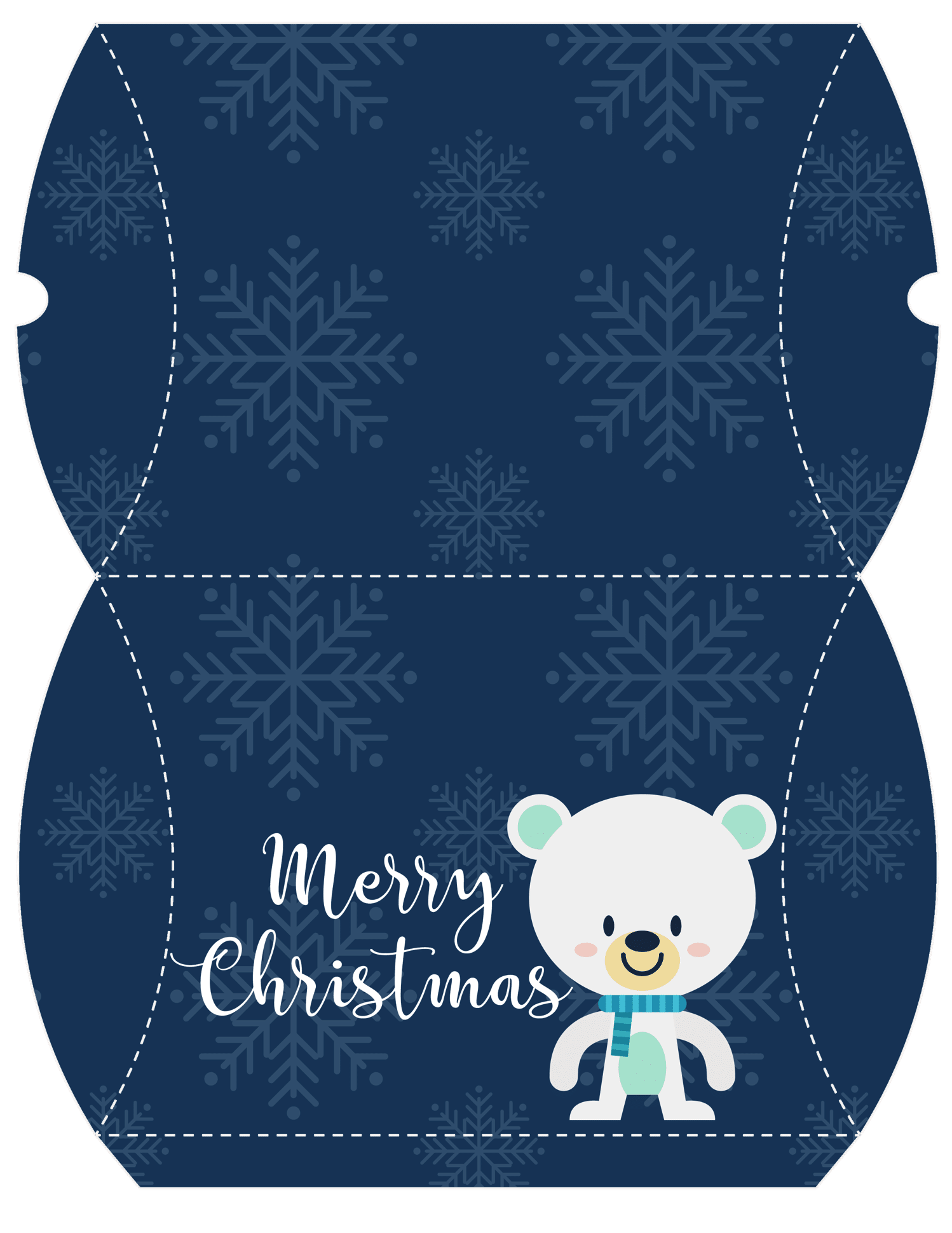 Free Christmas Holiday Gift Pillow Printables