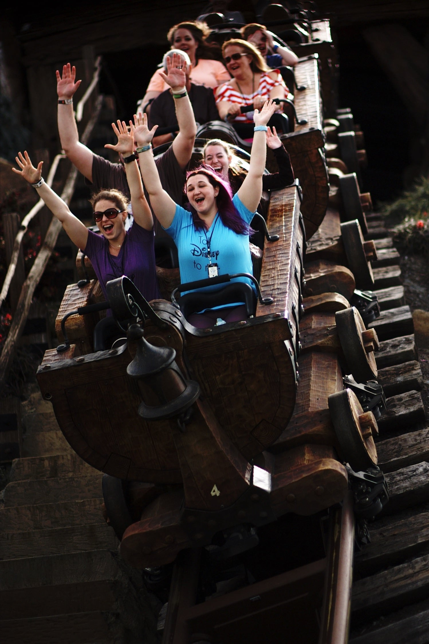 Mine Train on the VIP tour Disney World