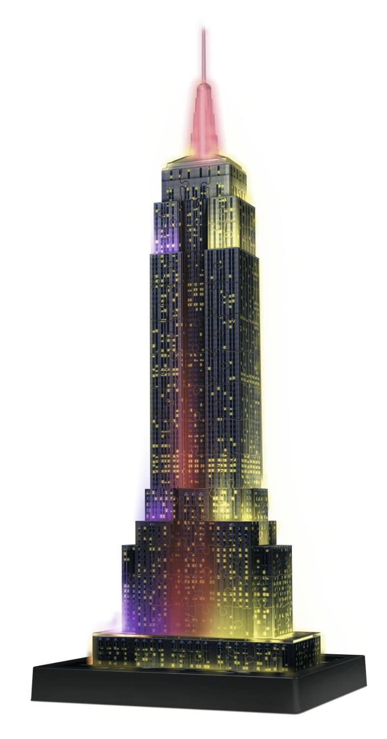 Ravensburger Empire State Building Night Edition 3D Puzzle
