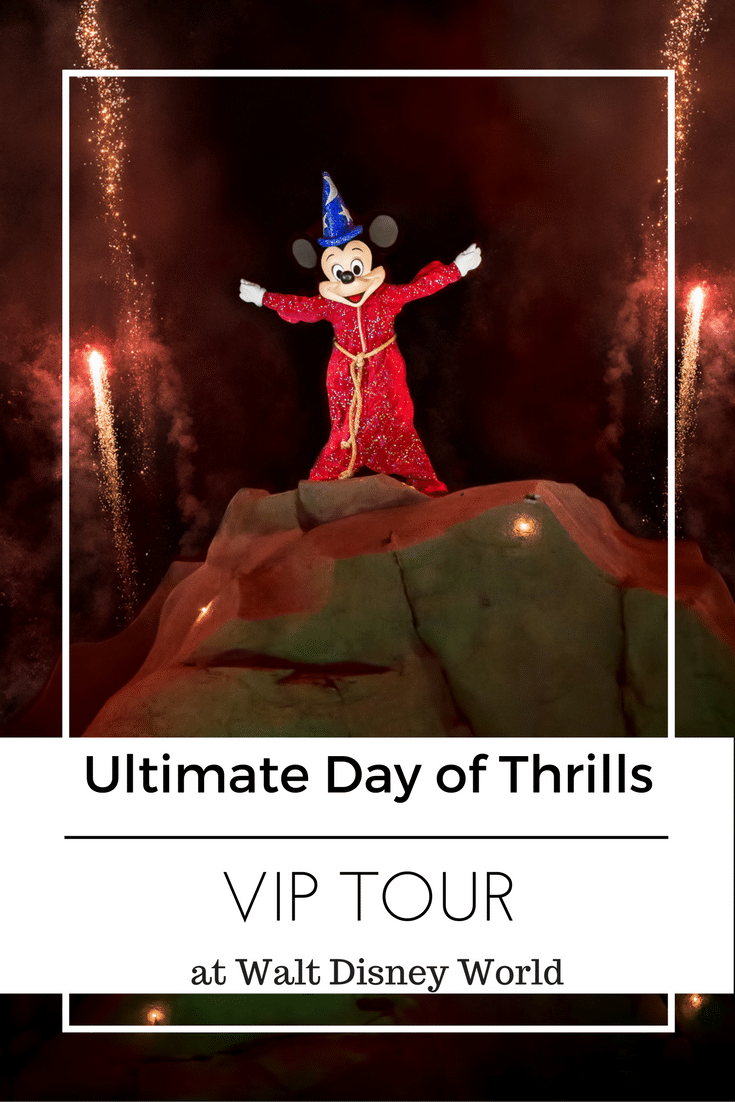 Ultimate Day of Thrills VIP Tour at Walt Disney World