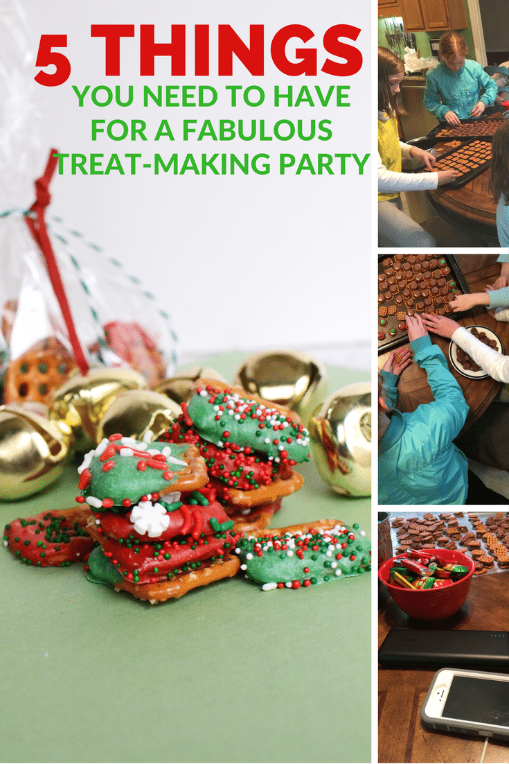 5 THINGS YOU NEED TO HAVE FOR A FABULOUS TREAT-MAKING PARTY