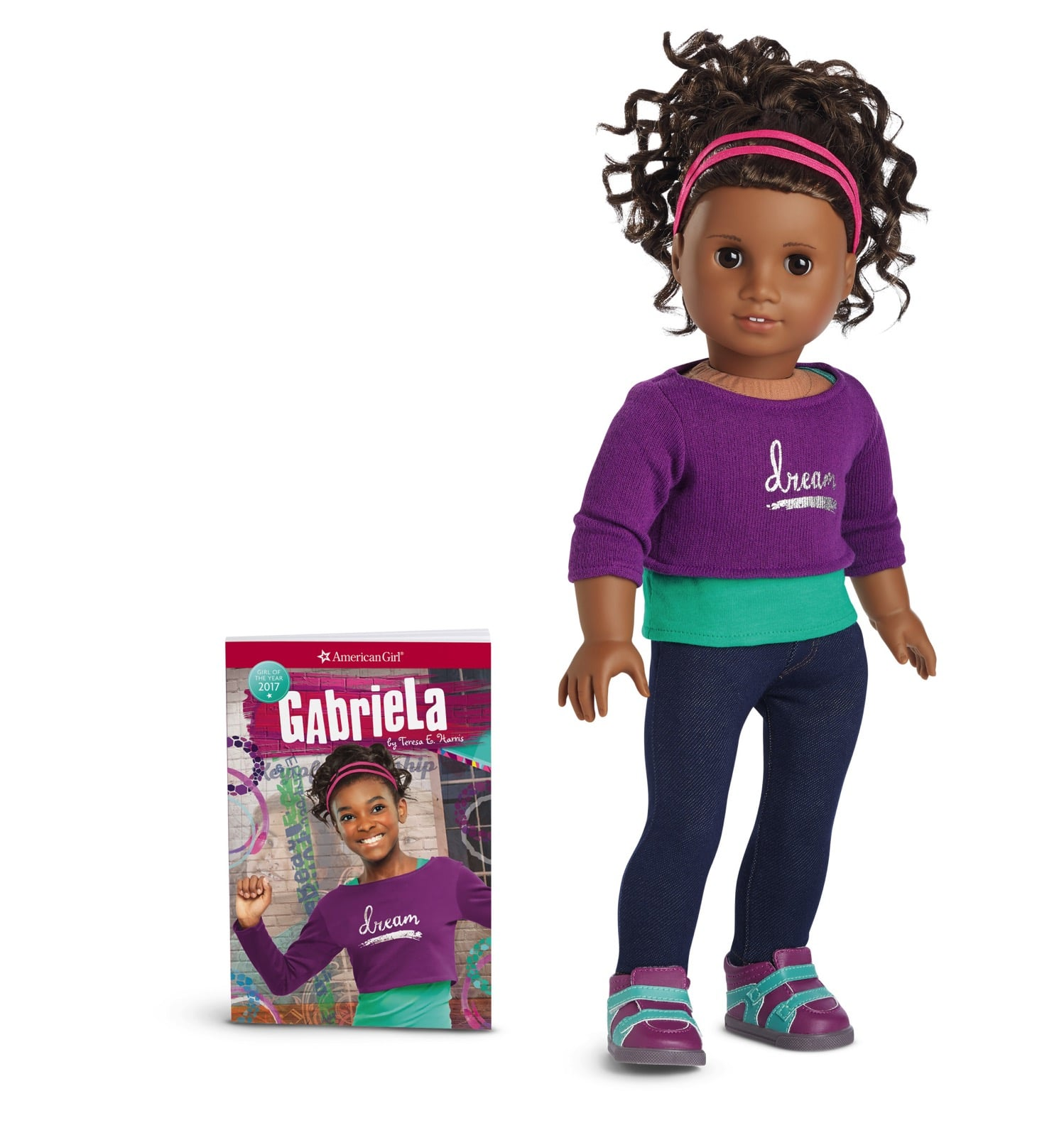 Gabriela Doll and Book LR