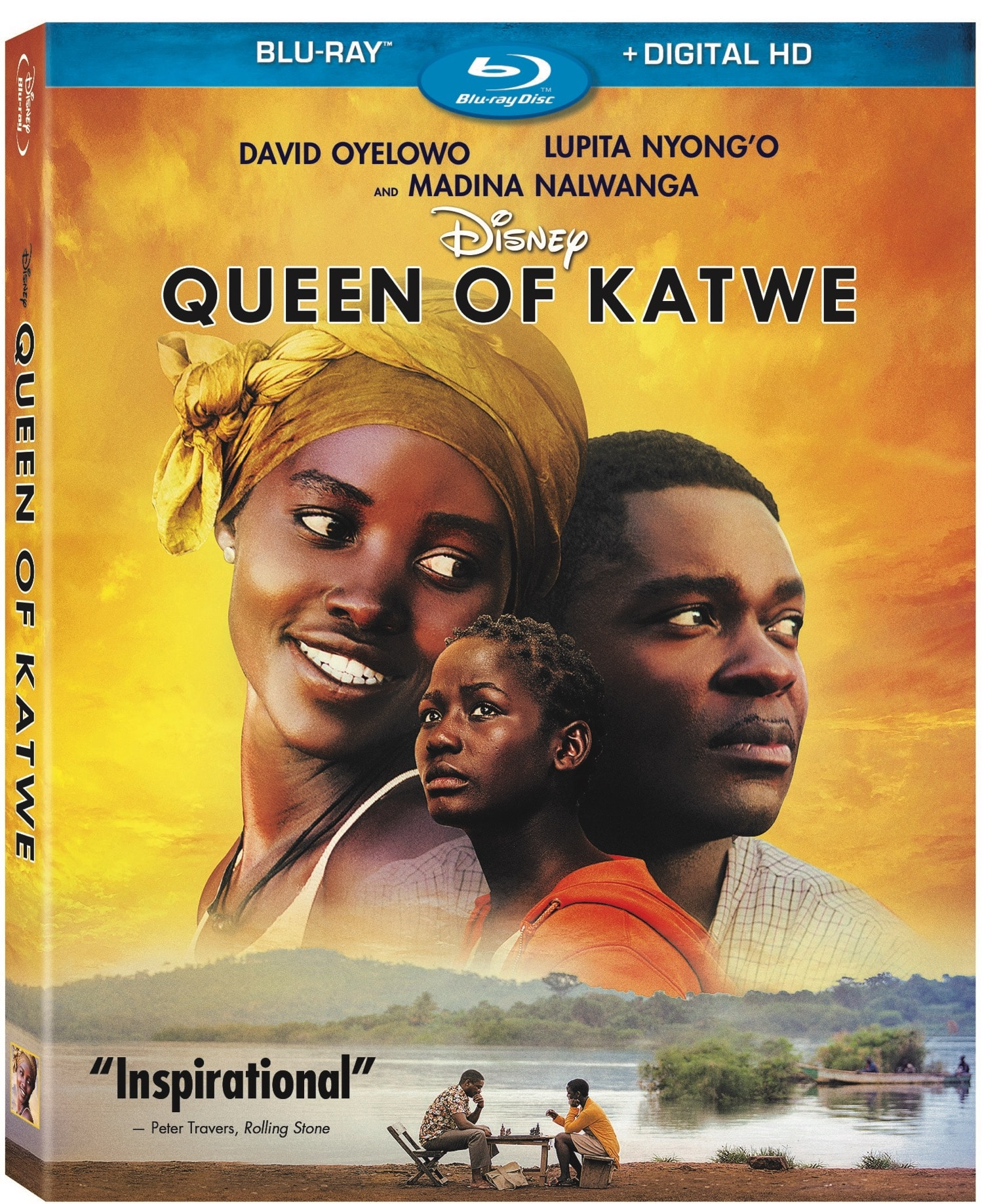 Queen Of Katwe Bluray